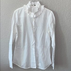 J.Crew Brand button up blouse